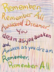 Grimoire, 016, Dreamer, Remember